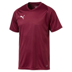 LIGA JERSEY CORE S/S BURGUNDY [FROM: $17.50]