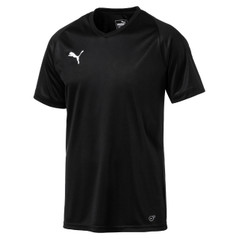 LIGA JERSEY CORE S/S BLACK [FROM: $17.50]