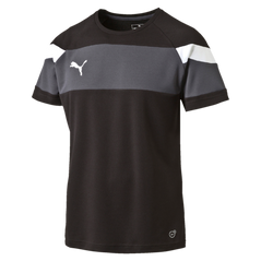 SPIRIT II JERSEY S/S BLACK/WHITE [FROM: $24.50]