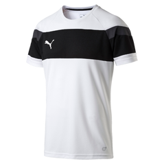 SPIRIT II JERSEY S/S WHITE/BLACK [FROM: $24.50]