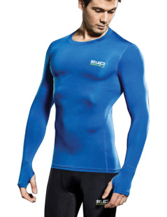 QUINNS COMPRESSION JERSEY L/S ROYAL
