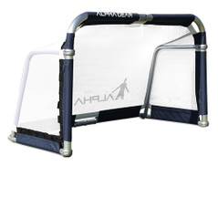 ELITE 6FT X 4FT ALUMINIUM FOLDING GOAL -RUBBER BASE PADS - SINGLE [FROM: $315.00]