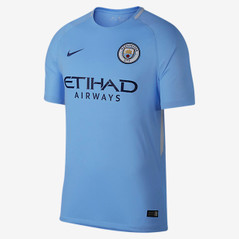 MANCHESTER CITY HOME JERSEY 17/18