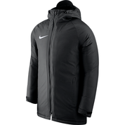 DRY ACADEMY 18 STADIUM JACKET BLACK [FROM: $119.00]