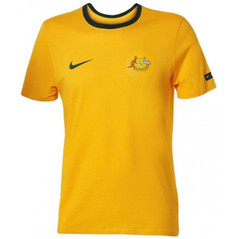Australia T-Shirt Yellow W/Badge