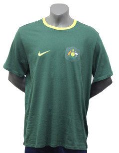 Australia T-Shirt Green w/Badge