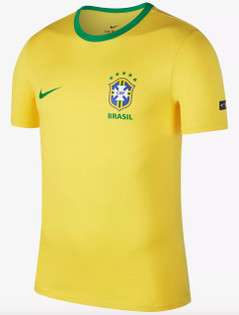 Brazil T-Shirt w/Badge