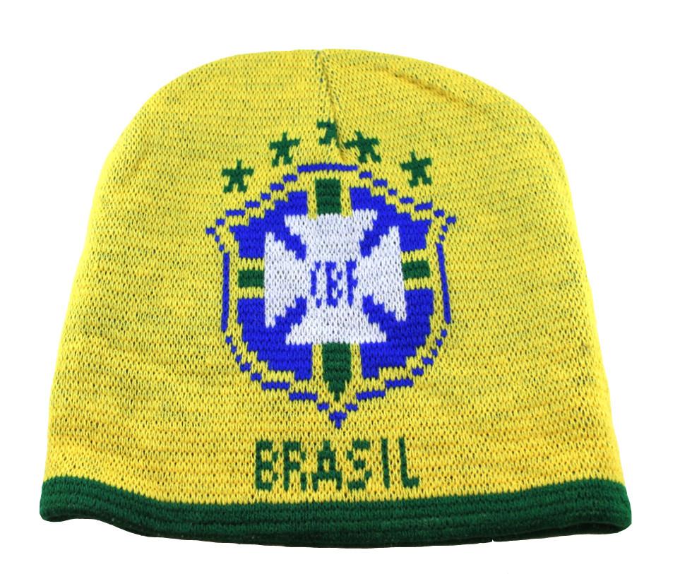 Brazil Beanie - Onside Sports dd5c0c18656