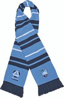 Sydney FC Rib-Knit Scarf