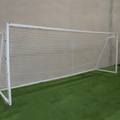FULL SIZE 7.32M x 2.44M ALUMINIUM FRAME PORTABLE GOAL [FROM: $900.00]