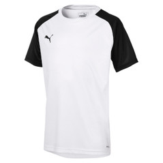 CUP JERSEY CORE S/S WHITE/BLACK [FROM: $24.50]