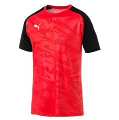 CUP JERSEY CORE S/S RED/BLACK [FROM: $24.50]