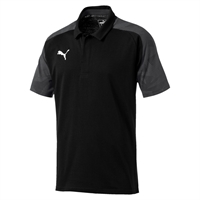 CUP POLO S/S BLACK [FROM: $31.50]