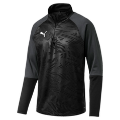 CUP 1/4 ZIP JACKET BLACK [FROM: $49.00]