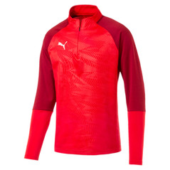 CUP 1/4 ZIP JACKET RED [FROM: $49.00]