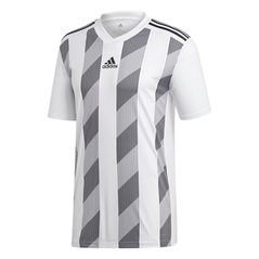 STRIPED 19 JERSEY WHITE/BLACK [FROM: $30.00]
