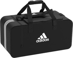 TIRO DUFFEL MEDIUM BLACK/WHITE [FROM: $45.00]