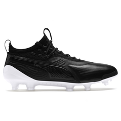 PUMA ONE 19.1 EVOKNIT FG/AG Black/White