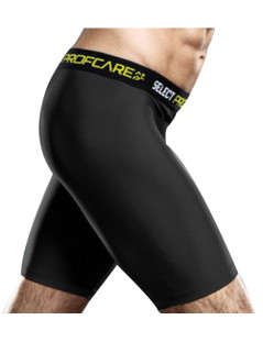 YUFC COMPRESSION SHORT BLACK