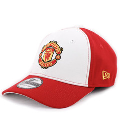 MANCHESTER UNITED NE CAP RED/WHITE