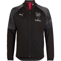 Arsenal Stadium Jacket Black 18/19