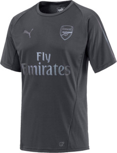 Arsenal Training Jersey SS Grey 18/19