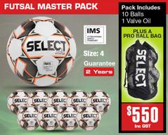 Master Futsal Ball Pack