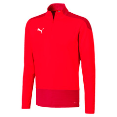 TEAMGOAL 1/4 ZIP RED [FROM: $45.50]