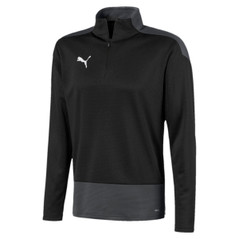 TEAMGOAL 1/4 ZIP BLACK [FROM: $45.50]