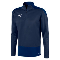 TEAMGOAL 1/4 ZIP NAVY [FROM: $45.50]