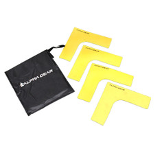 RUBBER ANGLE MARKERS 4 PK [FROM: $24.00]