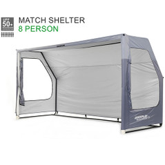 QUICKPLAY PORTABLE TEAM SHELTER / GOAL 3.6 X 1.8m [FROM: $570.00]