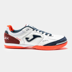 Top Flex Indoor White/Navy Orange
