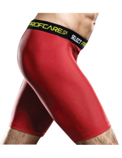COMPRESSION SHORT RED [FROM: $40.00]