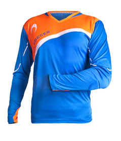 Zamora Jersey L/S Blue/Orange