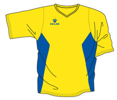 Zaragoza Jersey Yellow/Royal