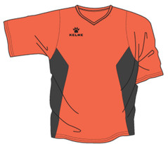 Zaragoza Jersey Orange/Black