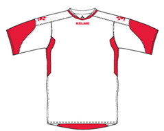 Cadiz Jersey White/Red