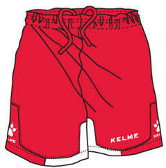 Cadiz Short Red/White