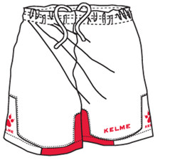 Cadiz Short White/Red