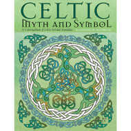 Celtic Myth and Symbol Coloring Book by Jen Delyth