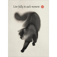 Live Fully Greeting Card