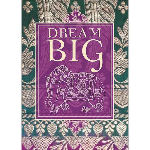 Dream Big Elephant Greeting Card