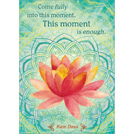 This Moment is Enough Greeting Card