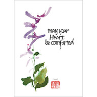 May Your Heart Be Comforted Greeting Card