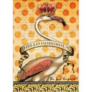 Gorgeous Flamingo Greeting Card