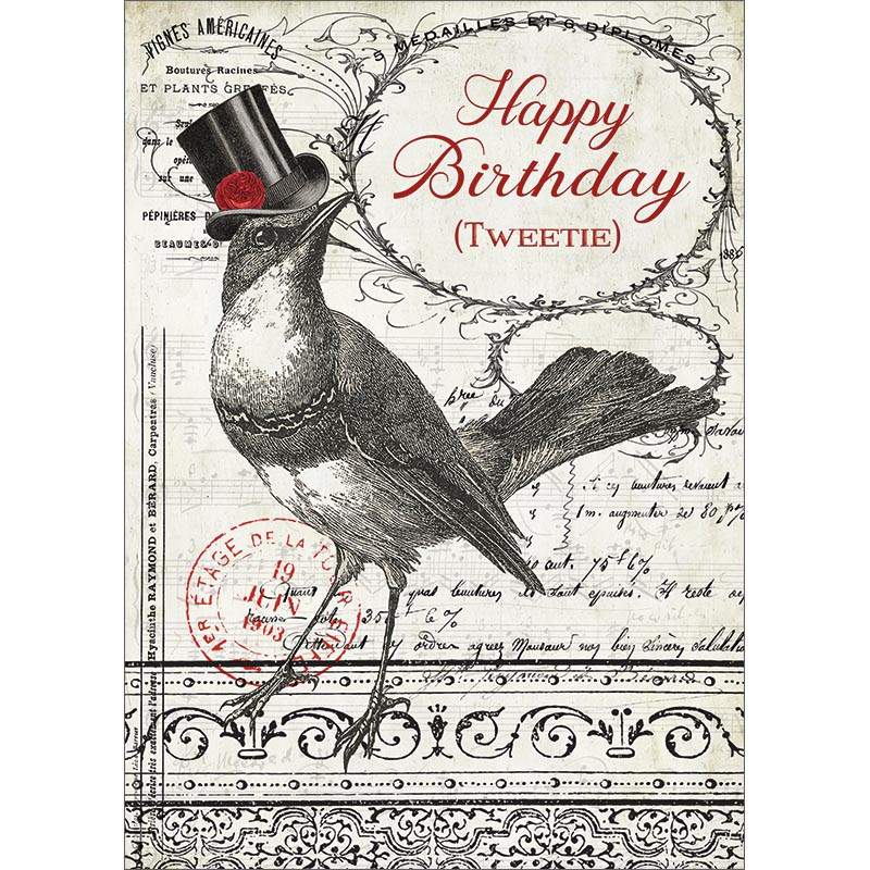 Tweetie Birthday Greeting Card