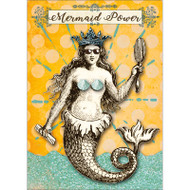 Mermaid Power Greeting Card
