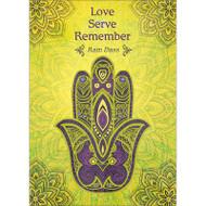 Love Serve Remember Greeting Card