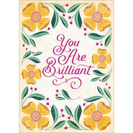 You Are Brilliant Greeting Card